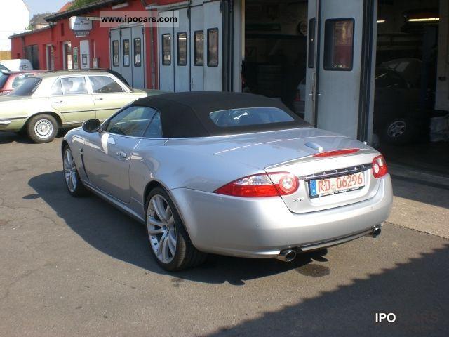 2007 jaguar xk 4 2 convertible car photo and specs. Black Bedroom Furniture Sets. Home Design Ideas