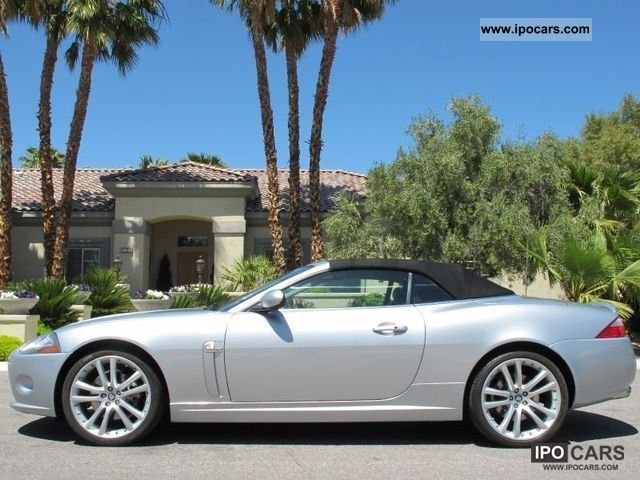 2006 Jaguar  2007er XK 4.2 Convertible - VOLLAUSSTATTUNG Cabrio / roadster Used vehicle photo