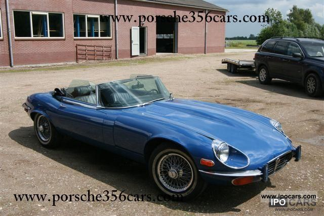 1974 Jaguar  E-Type S3 Roadster Cabrio / roadster Classic Vehicle photo