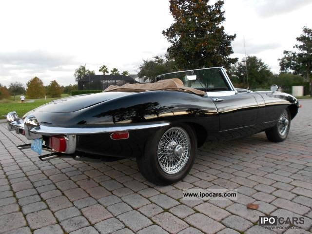 Jaguar  E-Type Series II (U.S. price) 1970 Vintage, Classic and Old Cars photo