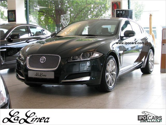 2011 Jaguar  2012 XF 2.2 D model Limousine Demonstration Vehicle photo