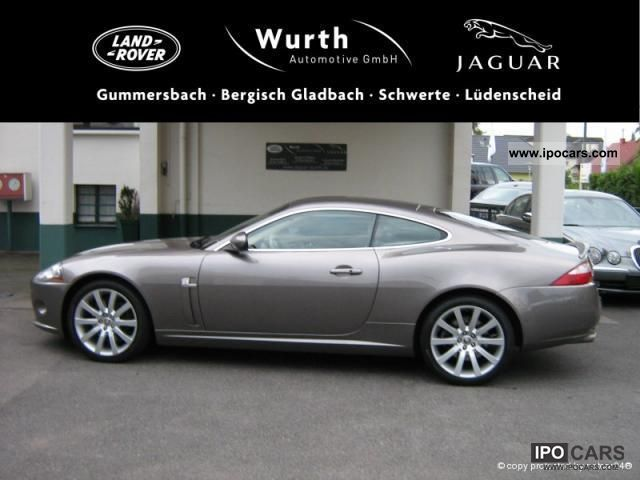 2009 Jaguar Xk 4 2 Coupe With Luxury Sports Package Car Photo And