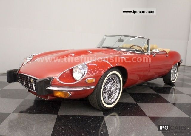 Jaguar  E-Type Series III Conv., PERFECT CONDI & PRICE! 1974 Vintage, Classic and Old Cars photo