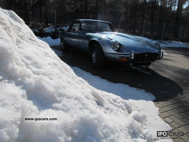 Jaguar  V12 Winter Deals 1973 Vintage, Classic and Old Cars photo