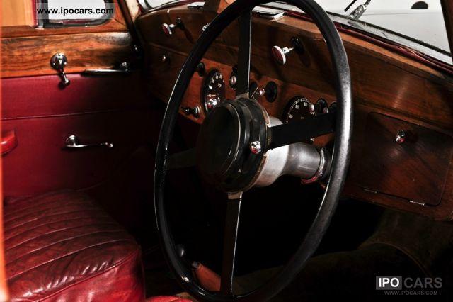 Jaguar  MK IV 2.5 L 3.5 L 1948 Vintage, Classic and Old Cars photo