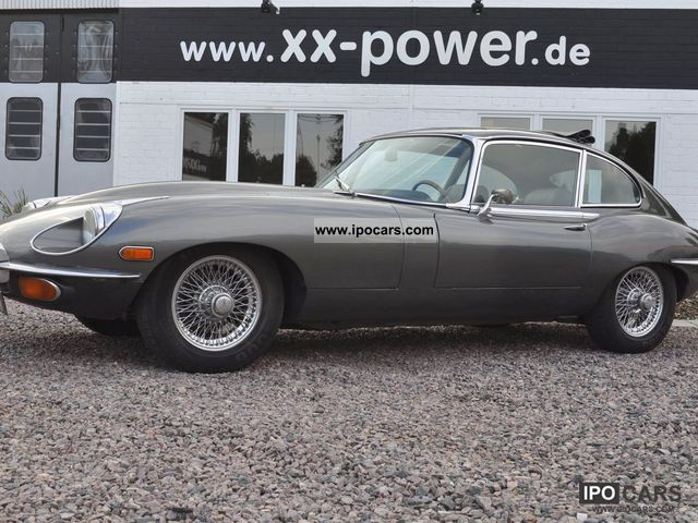 Jaguar  E-Type convertible top Nr697 1970 Vintage, Classic and Old Cars photo