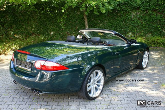 2006 jaguar xkr convertible supercharged 20 inch navi car photo and specs. Black Bedroom Furniture Sets. Home Design Ideas