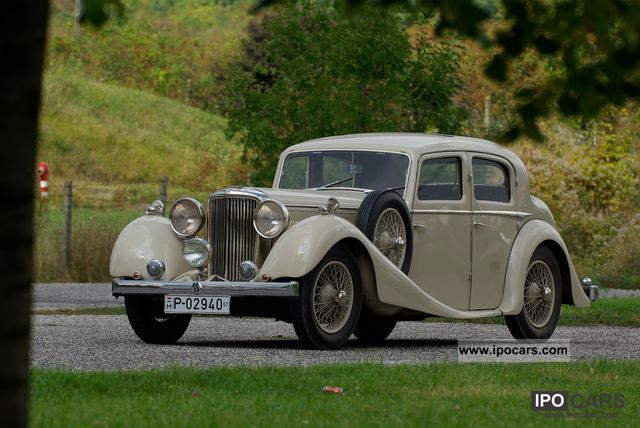 1935 Jaguar  SS 2.5 Litre Saloon Limousine Classic Vehicle photo