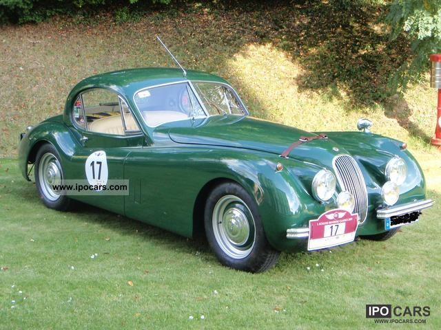 Jaguar  XK 120 fhc 1952 Vintage, Classic and Old Cars photo