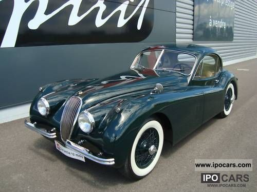 Jaguar  XK 120 Coupe 1953 Vintage, Classic and Old Cars photo