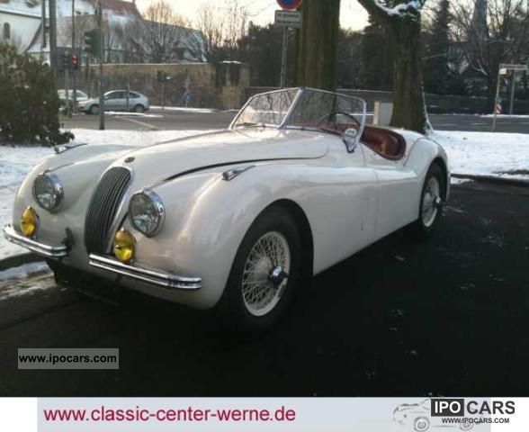 Jaguar  XK 120 OTS 1952 Vintage, Classic and Old Cars photo