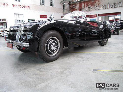 Jaguar  120 OTS 1952 Vintage, Classic and Old Cars photo