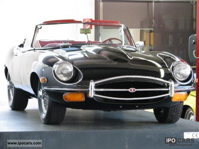 Jaguar  E-Type 2.4 Roadster SII 1971 Vintage, Classic and Old Cars photo