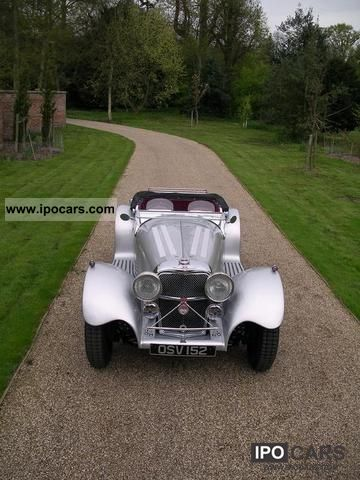 Jaguar  SS 100 by SUFFOLK 1979 Vintage, Classic and Old Cars photo