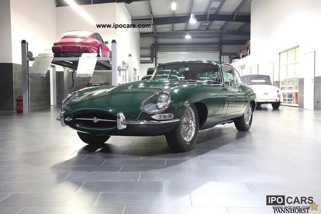 Jaguar  E-Type Coupe Series 1 1/2 FHC 4.2 ltr. 1965 1965 Vintage, Classic and Old Cars photo