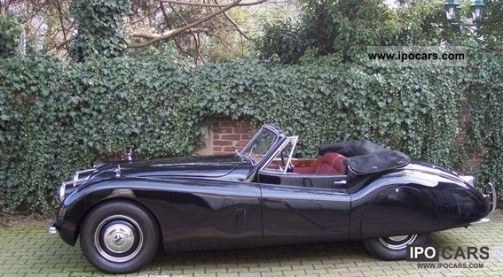 Jaguar  XK 120 DHC SE Convertible 1954 Vintage, Classic and Old Cars photo