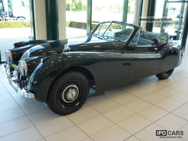 Jaguar  XK 120 Drophead Coupe LHD 1953 Vintage, Classic and Old Cars photo