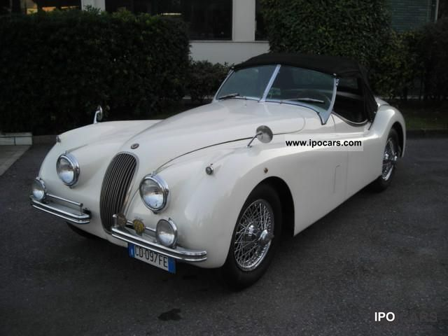 Jaguar  XK 120 OTS Roadster SE OPEN TWO SEATER 1954 Vintage, Classic and Old Cars photo