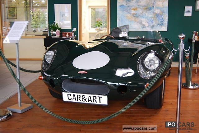 Jaguar  D-TYPE LE MANS SPORTS CARS GB 1978 Vintage, Classic and Old Cars photo