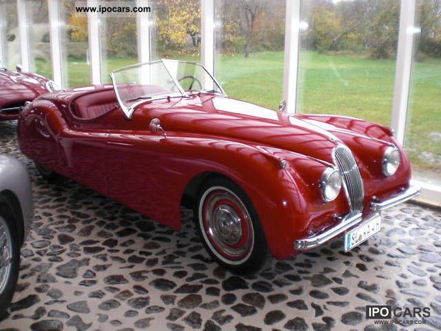Jaguar  XK 120 Roadster 1950 Vintage, Classic and Old Cars photo
