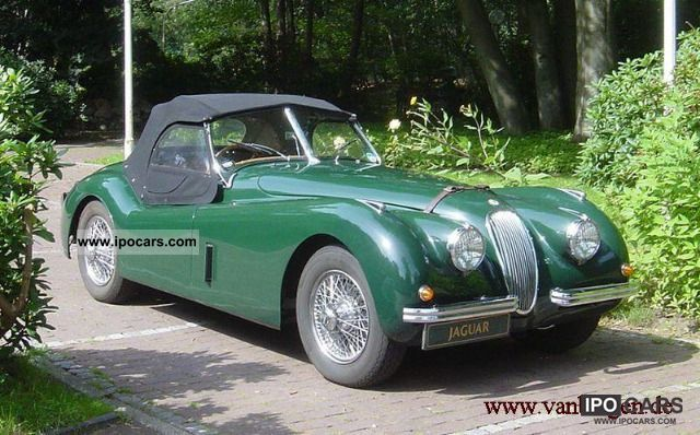 Jaguar  XK 120 roadster rhd 1952 Vintage, Classic and Old Cars photo
