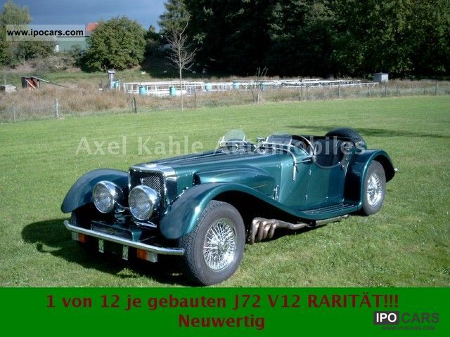 Jaguar  Panther J72 V12 weltweit12 piece Inz / exchange 1974 Vintage, Classic and Old Cars photo