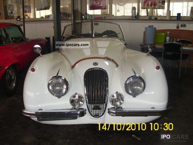 Jaguar  XK 120 OTS 1954 Vintage, Classic and Old Cars photo