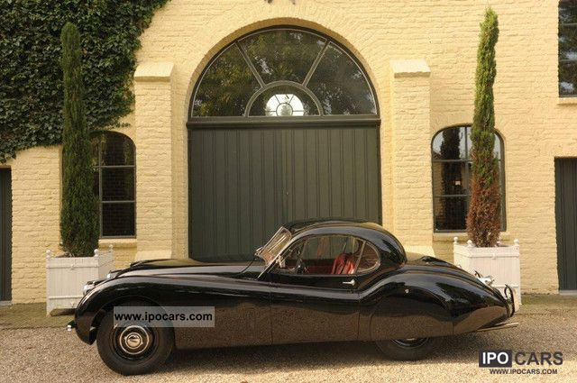 Jaguar  XK 120 Fixed Head Coupe 1952 Vintage, Classic and Old Cars photo