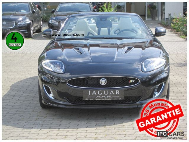 2011 Jaguar  5.0 V8 Supercharged XKR Convertible Model 2012 Cabrio / roadster New vehicle photo