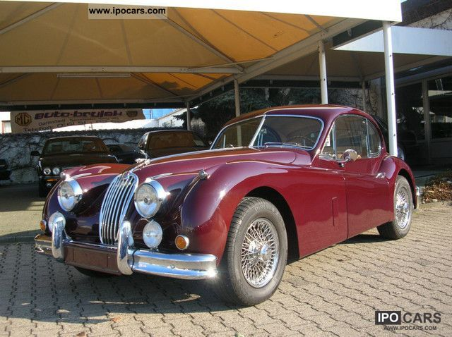 Jaguar  140 FHC 1955 Vintage, Classic and Old Cars photo