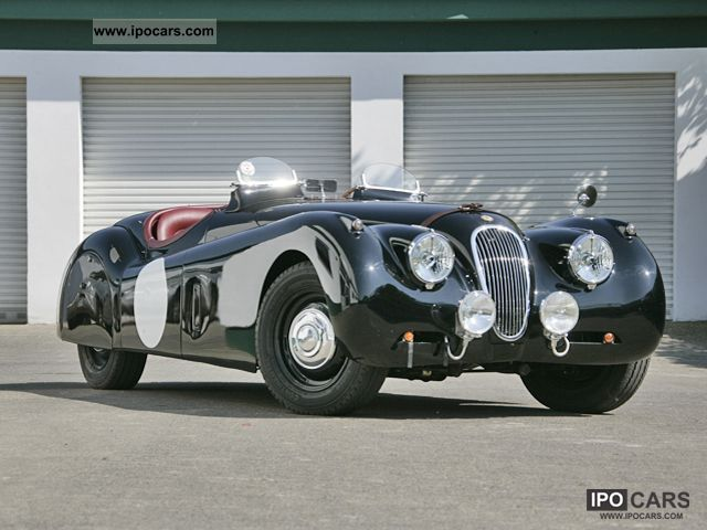 Jaguar  XK 120 Sports Trim 1952 Vintage, Classic and Old Cars photo