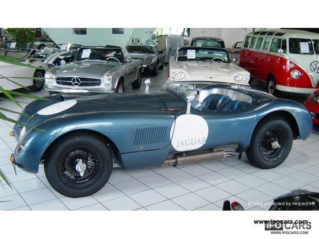 Jaguar  XK 120 C-Type 1954 Vintage, Classic and Old Cars photo