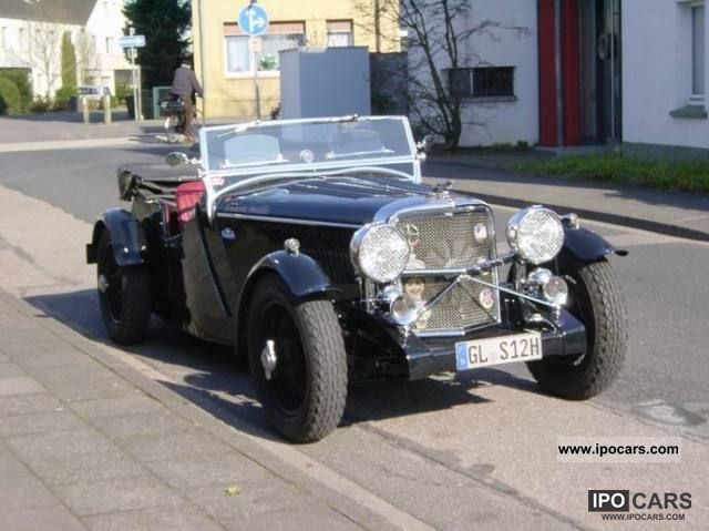 Jaguar  SS 100 Tourer 1938 Vintage, Classic and Old Cars photo