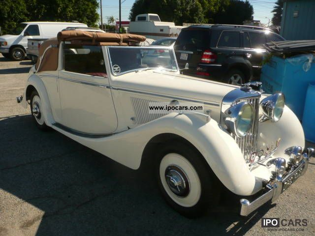 Jaguar  MK IV DHC Convertible 1948 Vintage, Classic and Old Cars photo