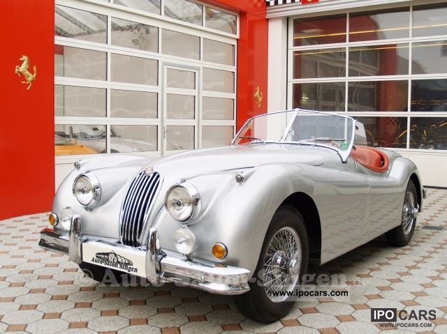 Jaguar  XK 140 Roadster 1955 Vintage, Classic and Old Cars photo