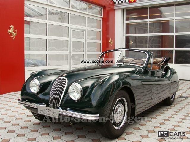 Jaguar  XK 120 DHC 1953 Vintage, Classic and Old Cars photo