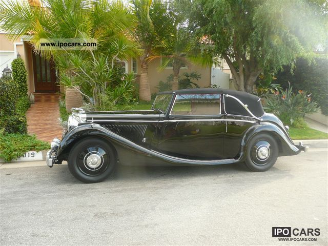 Jaguar  4DHC MK-3 position convertible 1948 Vintage, Classic and Old Cars photo