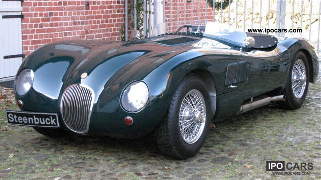 Jaguar  C-Type (XK 120) 1953 Vintage, Classic and Old Cars photo