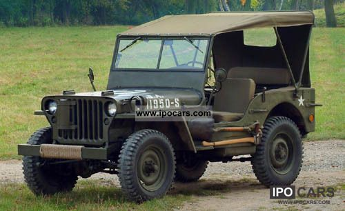 Jeep  Willys 1944 Vintage, Classic and Old Cars photo