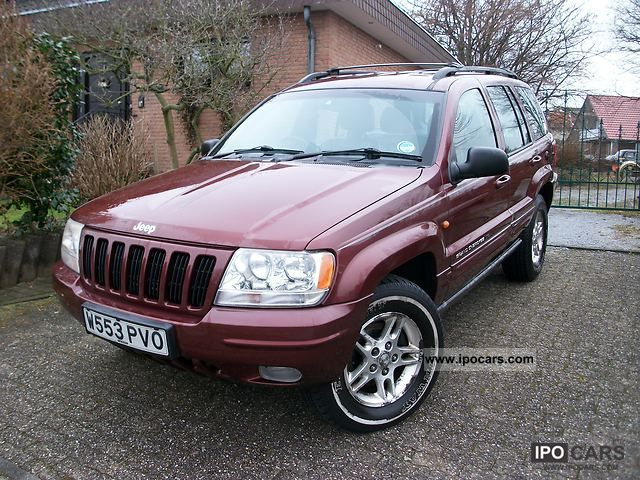 Jeep  Grand Cherokee 4.0 Limited 2000 Liquefied Petroleum Gas Cars (LPG, GPL, propane) photo