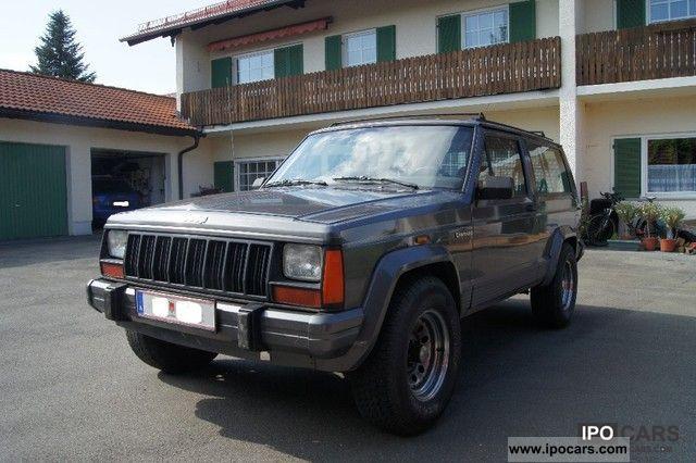 1989 Jeep Cherokee Xj 4 0l Truck Registration Car Photo