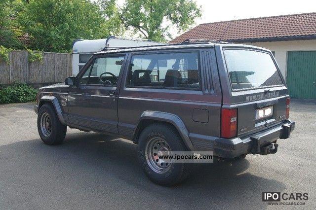 1989 jeep cherokee xj 4 0l truck registration car photo and specs. Black Bedroom Furniture Sets. Home Design Ideas