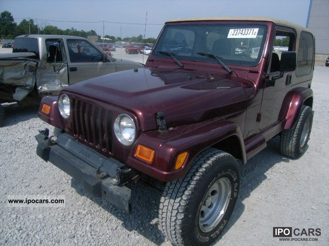 2001 jeep wrangler s car photo and specs. Black Bedroom Furniture Sets. Home Design Ideas