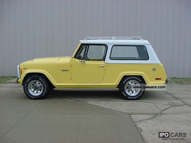 Jeep  COMMANDO 1972 Vintage, Classic and Old Cars photo