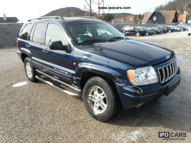 2003 jeep grand cherokee 2 7 crdi 4x4 5 2003 car photo and specs. Black Bedroom Furniture Sets. Home Design Ideas