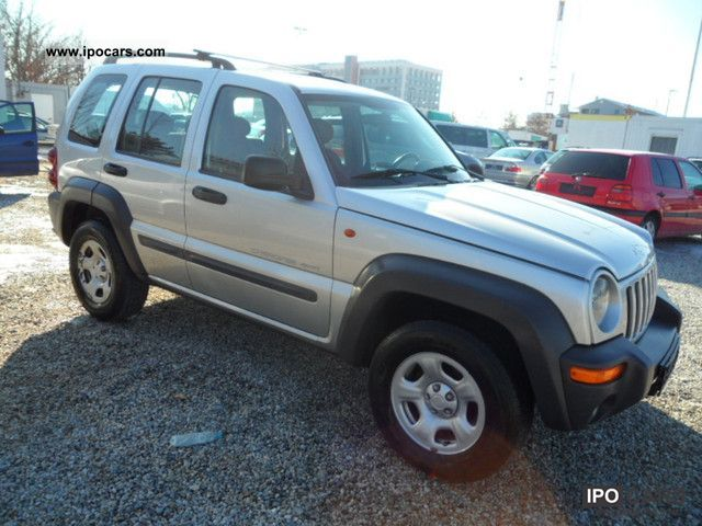 2003 jeep cherokee 2 8 crd sport 150 ps car photo and specs. Black Bedroom Furniture Sets. Home Design Ideas
