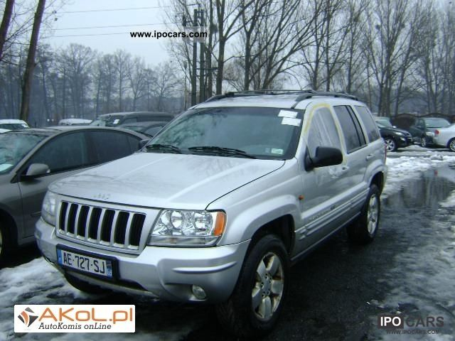 2003 Jeep  Grand Cherokee 7.2 AUTOMATIC SKORA BEZWYPADKOWY Other Used vehicle photo