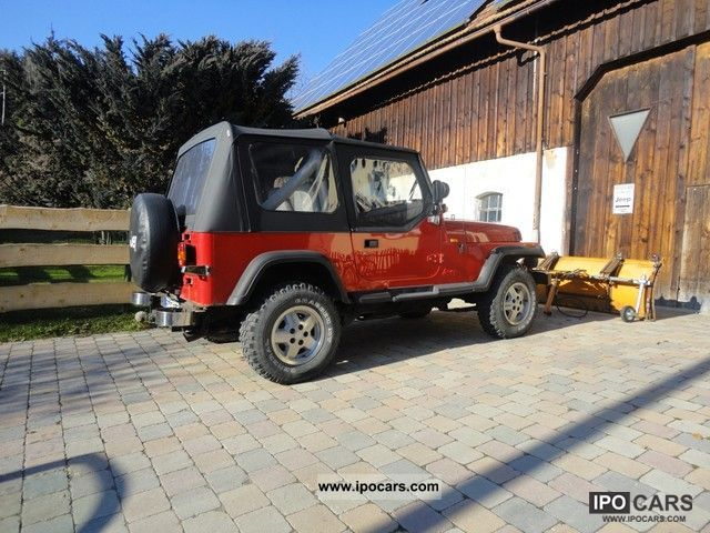 1990 Jeep Wrangler - Car Photo and Specs