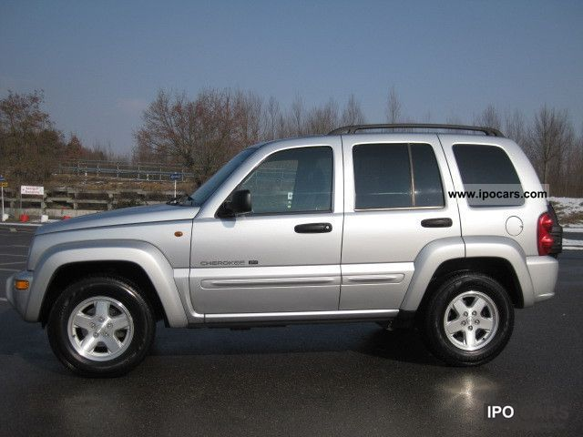 2002 Jeep  Cherokee 2.5 CRD Limited € 3 Air Leather Aluminum Off-road Vehicle/Pickup Truck Used vehicle photo