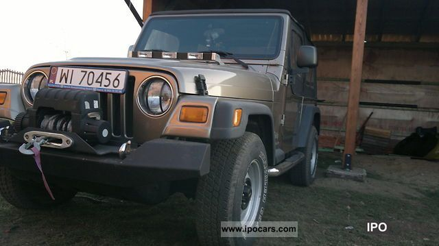 Jeep  TJ Idealny Thurs tuningu 2.4 16V 2001 Tuning Cars photo